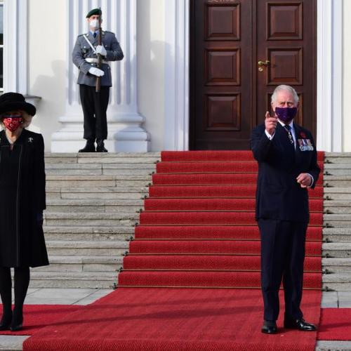 UPDATED: Prince Charles in Berlin for National Day of Mourning