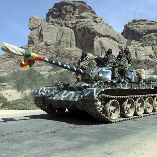Reports of heavy fighting in Ethiopia as army sent into Tigray region