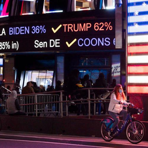 Wall Street executives fret as U.S. presidential election is too close to call