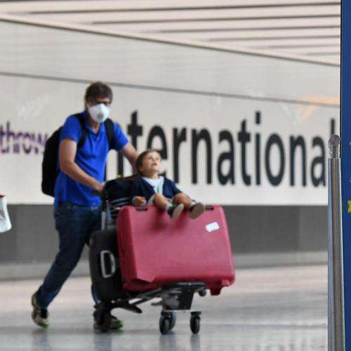 Britain bans entry to all travellers from Denmark