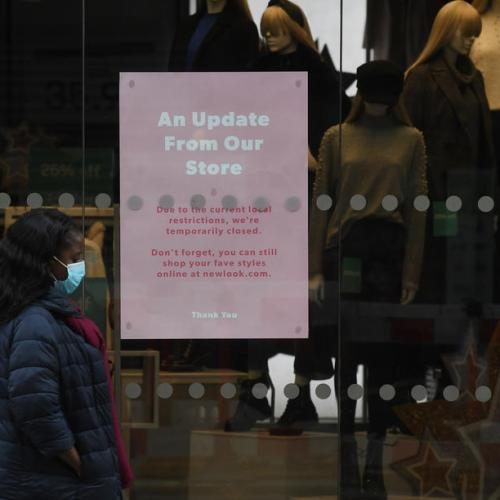 UK economy shrinks as new lockdown shuts services firms – PMI