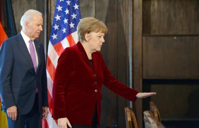 Merkel, Biden agree to stronger cooperation