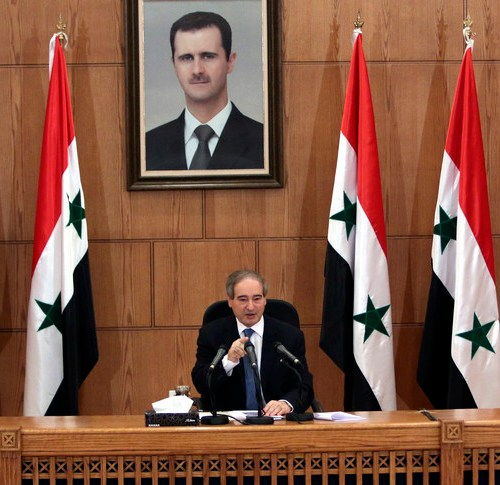 Veteran Syrian diplomat Mekdad named foreign minister