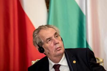 Czech Senate speaker says president too ill to work, seeks to shift duties