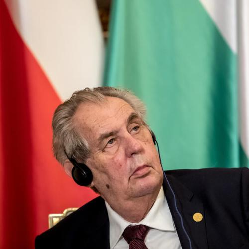 Trump should quit and 'not be embarrassing', Czech president says