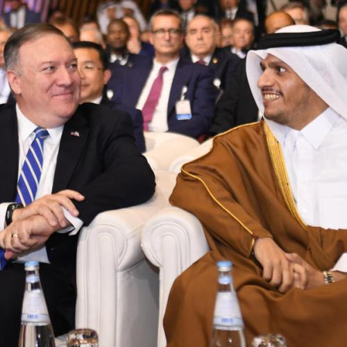 US Secretary of State Mike Pompeo visits Qatar
