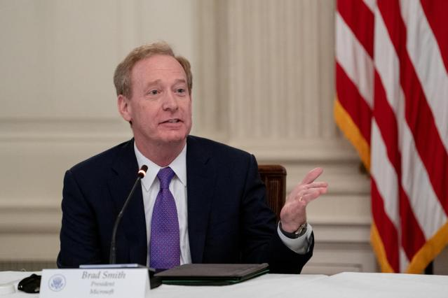 Microsoft's President Brad Smith on the US Election