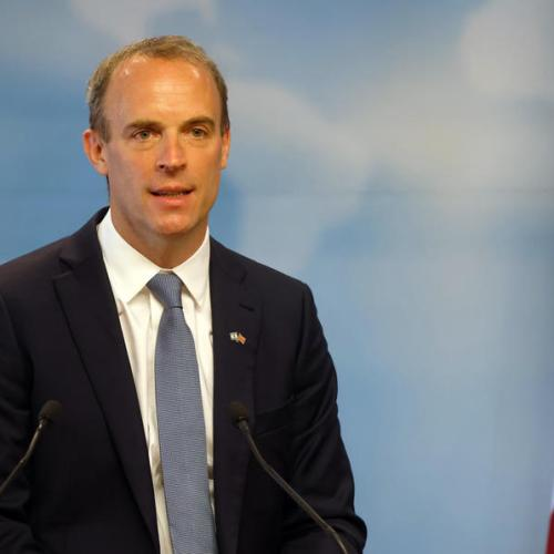 Britain's Raab says ball in EU's court over N.Ireland issue