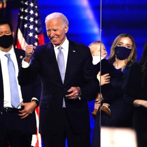 Analysis – A longtime fixture in U.S. politics, Biden finally wins elusive prize