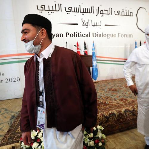U.N. announces Libyan talks election breakthrough