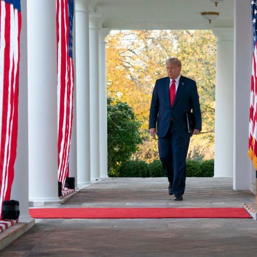 Trump concedes and retracts