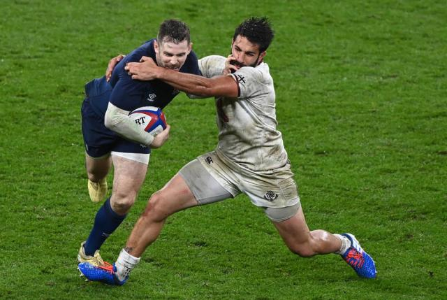 Rugby – George grabs hat-trick as England thump Georgia 40-0