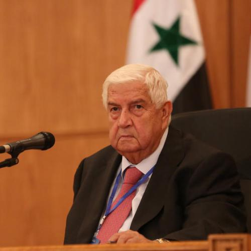 Syria mourns the death of its veteran top diplomat
