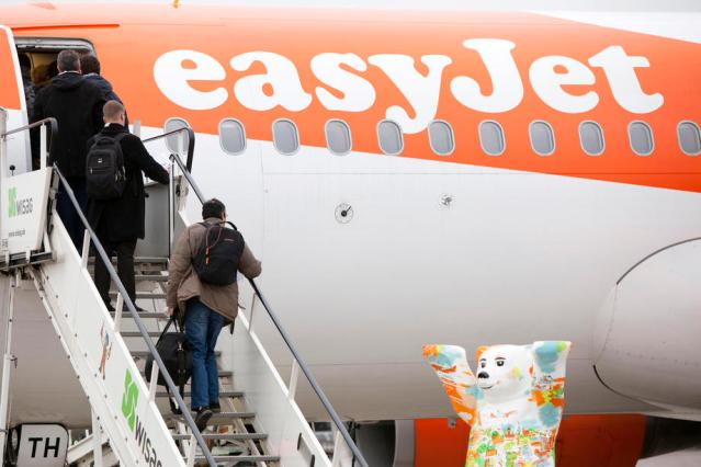 EasyJet says domestic bookings rise as England lockdown ends