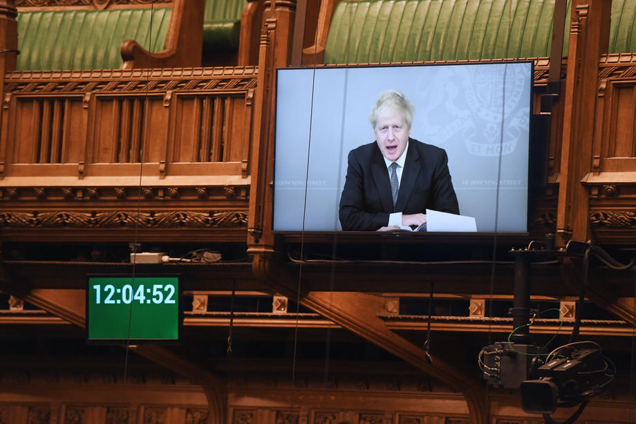 PM Johnson urges G20 to do more to combat COVID