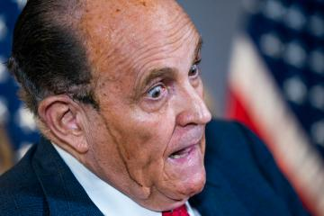 Rudy Giuliani is suspended from law practice over Trump, election comments