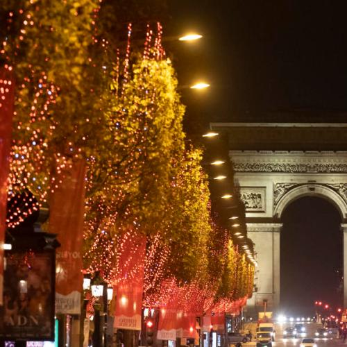 Photo Story: The Champs Elysees in Paris lights up for Christmas