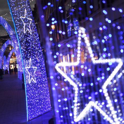Photo Story: Christmas decorations amid coronavirus pandemic in London