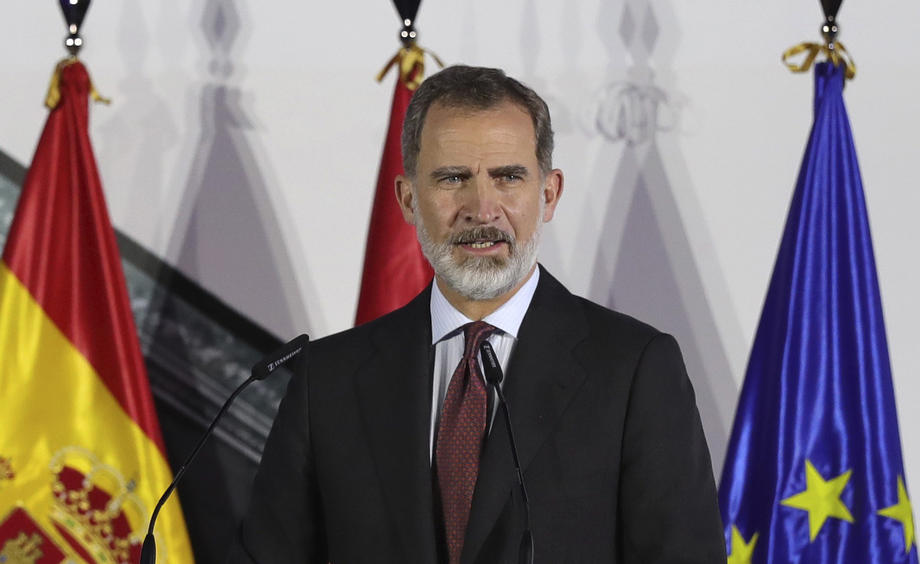 Spain's King Felipe in quarantine after close contact with coronavirus case