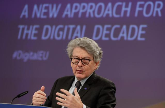 Tech giants face fines or even break-up if they breach new rules – EU's Breton