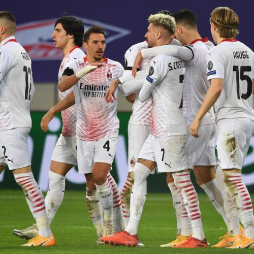 AC Milan held by Lille but remain on course to qualify