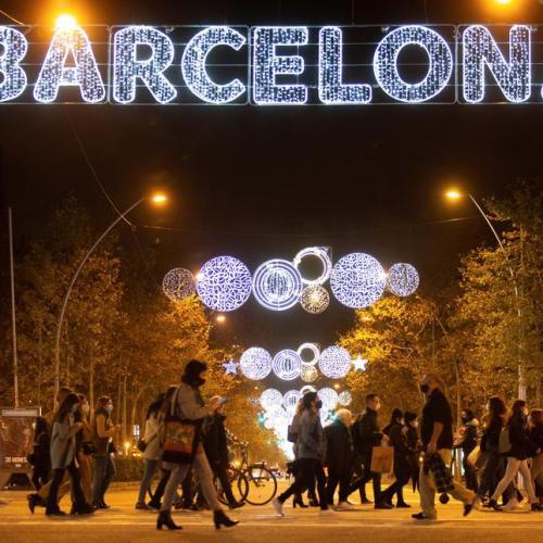 Photo Story: Barcelona lights up for Christmas