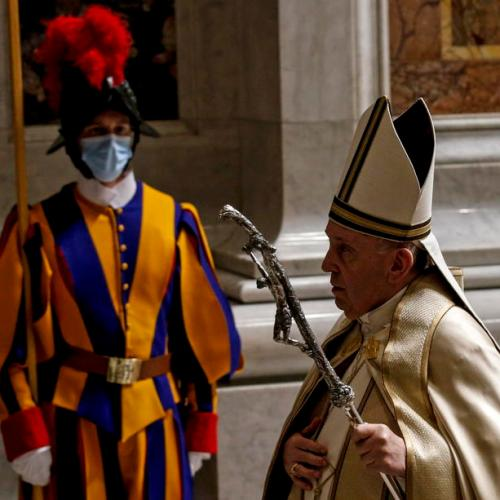 Pope Francis to take vaccine next week