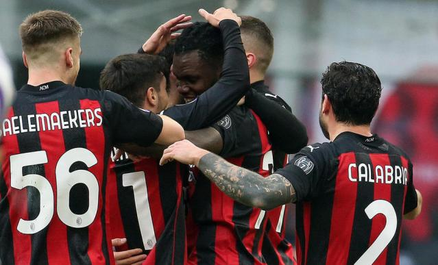 Leaders AC Milan beat Fiorentina, Lazio stunned by modest Udinese