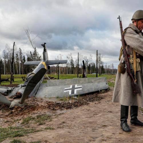 Photo Story: Re-enactment of the battle for Moscow in 1941