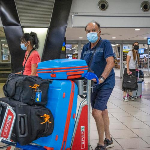 England bans travel from South Africa after two cases of 'more transmissible' variant