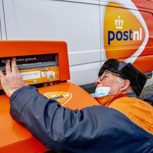 Photo Story: Letterboxes in the Netherlands shutdown for the duration of New Year's Eve