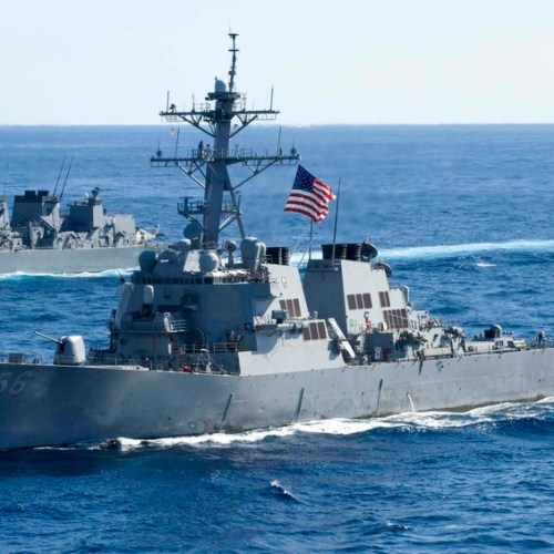U.S. warships transit Taiwan Strait, China denounces 'provocation'