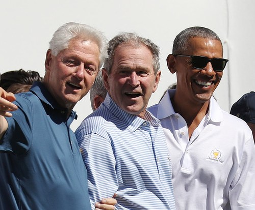Obama, Clinton and George W. Bush offer to receive vaccines on TV to promote public confidence