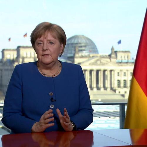 Angela Merkel's coronavirus address honoured as 'Speech of the Year'