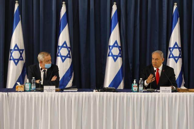 Israel edges towards early election amid Netanyahu-Gantz feud