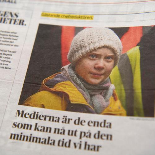 Activist editor – Greta Thunberg