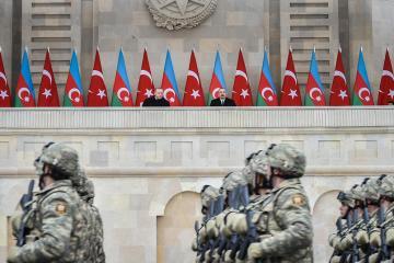 Russia monitoring talk of Turkish military base in Azerbaijan