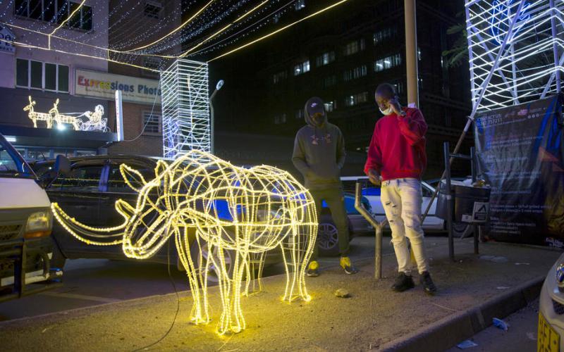 Photo Story: Christmas decorations in Harare, Zimbabwe