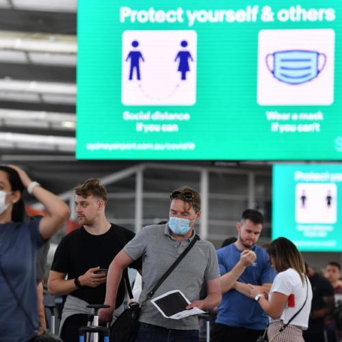 Australia's most populous state says COVID-19 cases at 3-day low