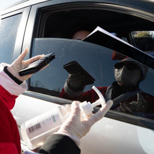 Drive-in Christmas mass amid coronavirus pandemic in South Korea