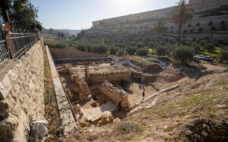New archeological sites linked to early Christianity discovered in Gethsemane