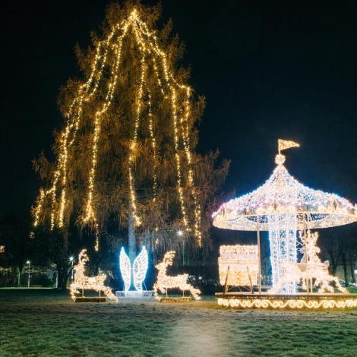 Photo Story: Christmas illuminations in Warsaw