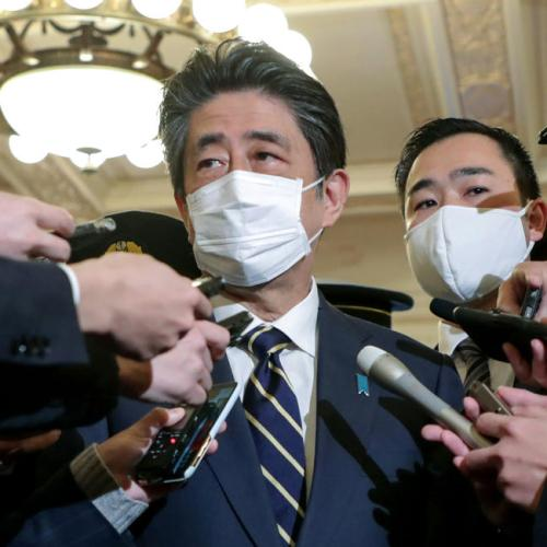 Japan ex-PM Abe apologises, corrects parliament statements on funding scandal
