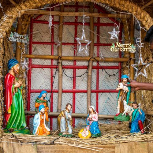 Photo Story: Christmas preparations in Dhaka