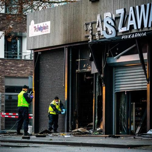 Explosion at Polish supermarket in The Netherlands