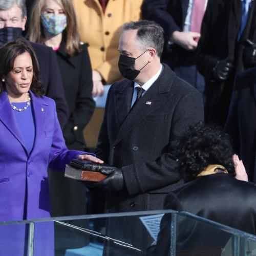 Breaking Barriers – Kamala Harris sworn in as U.S. Vice President