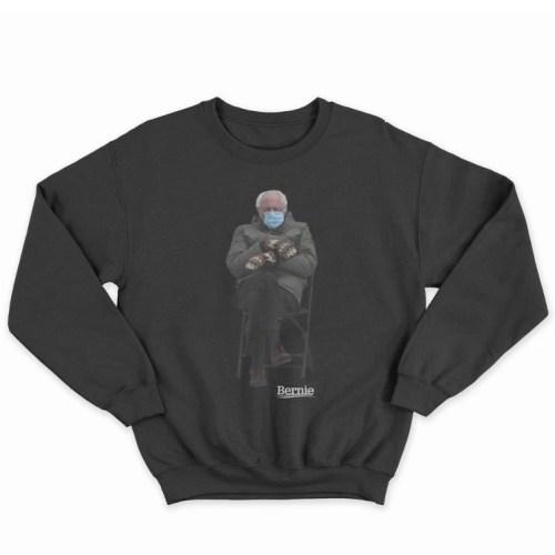 Bernie Sanders embraces meme and creates sweatshirt to raise money for charity