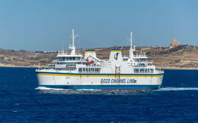 More trips to Gozo in 2020 but less cars, passengers
