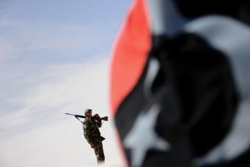 Blast kills two at southern Libya checkpoint