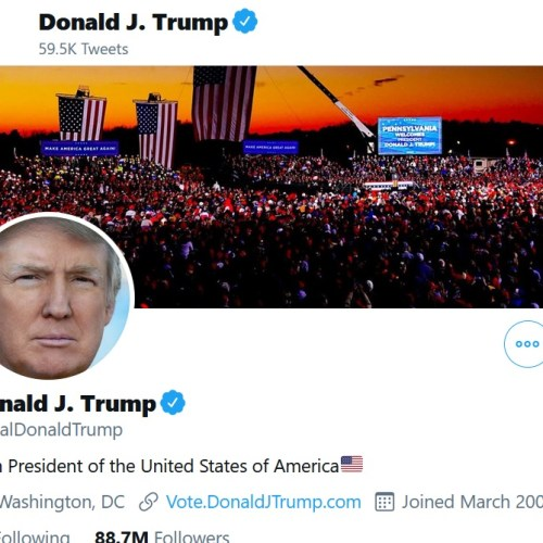 Trump returns to Twitter as Facebook's Zuckerberg bans him for 'fanning the flames'